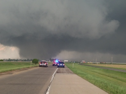 CNN iReporter Brenton Leete took these unbelievable photos of the EF-4 tornado on the ground in Moore, OK on Monday, May 20, 2013.