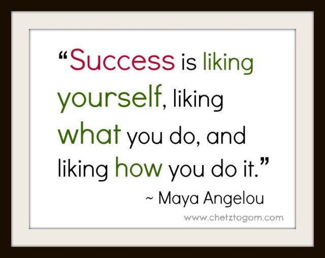 success-maya-angelou